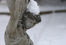 Photo by Don Lipps - Garden statue in Sibley Park, Mankato, MN