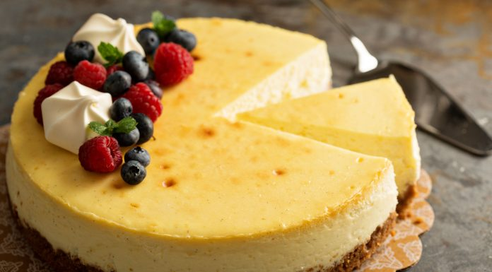 Fussy New York Cheesecake
