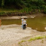 Photo by Rick Pepper - My kids play in the river bottom when the water is low.