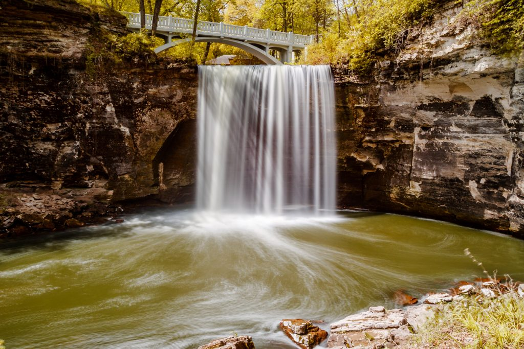 Photo By Rick Pepper - Minneopa Lower Falls