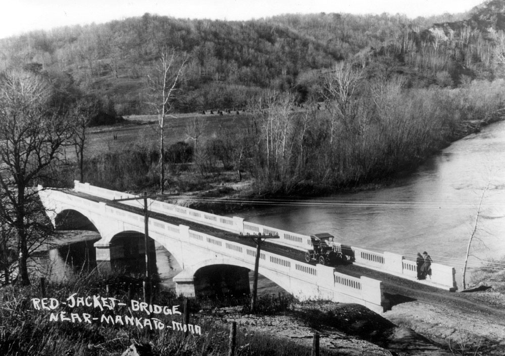 From History of the Red Jacket Valley by Julie A. Schrader - Red Jacket Bridge