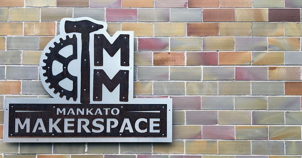 Submitted Photo - Mankato Makerspace sign