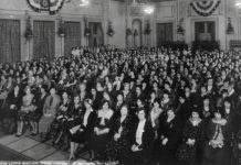 Photo Courtesy of the Minnesota American Legion Archives - American Legion Auxiliary spring conference at the St. Paul Hotel March 27, 1931.