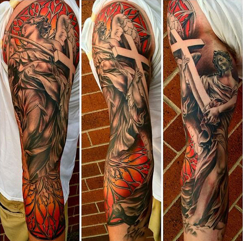 Submitted Photo - Full sleeve from three angles by Megan Hoogland
