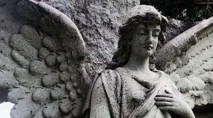 Photo by Mike Lagerquist - Closeup of Fred Kron monument.