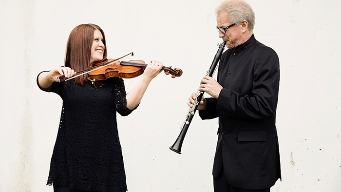 Submitted Image - Erin Keefe and Osmo Vänskä of the Minnesota Orchestra will appear with the Mankato Symphony Orchestra